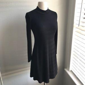 Madewell Ribbed Mock Neck Dress